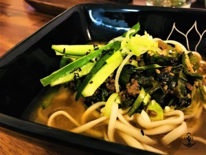 Beef and Vegetable Miso Ramen