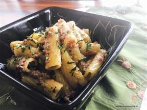 Rigatoni Pasta with Kalamata Olive Pesto 4