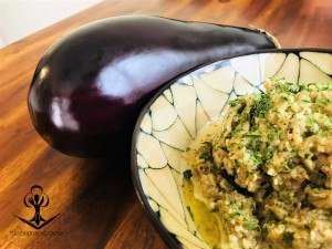 Roasted Eggplant with Herbs and Garlic 2