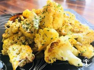 Roasted Spiced Cauliflower