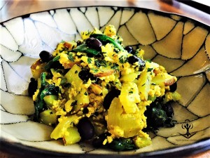 Tofu Scramble with Sauteed Vegetables 2